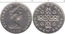 Каталог монет - монета  Остров Мэн 1 пенни