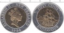 Каталог монет - монета  Новая Зеландия 50 центов