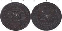 Каталог монет - монета  Мозамбик 20 рейс