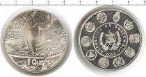 Продать Монеты Гватемала 10 кетсалей 2002 Серебро