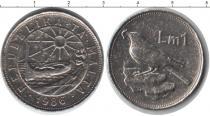 Каталог монет - монета  Мальта 1 лира