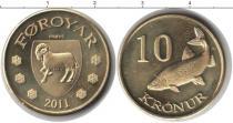 Каталог монет - монета  Фарерские острова 10 крон