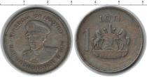 Каталог монет - монета  Лесото 1 лоти