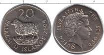 Каталог монет - монета  Фолклендские острова 20 пенсов