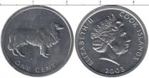 Каталог монет - монета  Острова Кука 1 цент