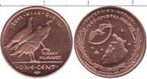 Каталог монет - монета  Резервация Лос-Койотес 1 цент