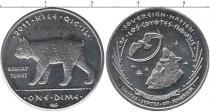Каталог монет - монета  Резервация Лос-Койотес 10 центов