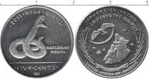 Каталог монет - монета  Резервация Лос-Койотес 5 центов