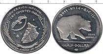 Каталог монет - монета  Резервация Лос-Койотес 50 центов