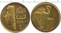 Каталог монет - монета  Саба 1 доллар