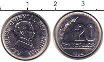 Каталог монет - монета  Уругвай 20 сентесим