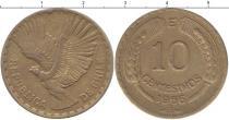 Каталог монет - монета  Чили 10 сентим