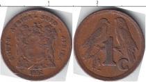 Каталог монет - монета  Южная Африка 1 цент