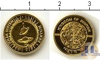 Продать Монеты Бутан 1 сертум 1995 Золото