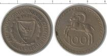 Каталог монет - монета  Кипр 100 милс