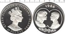 Каталог монет - монета  Фолклендские острова 25 фунтов