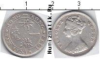 Каталог монет - монета  Гонконг 10 центов