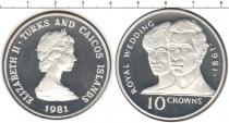 Каталог монет - монета  Теркc и Кайкос 10 крон