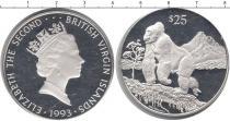 Каталог монет - монета  Виргинские острова 25 долларов