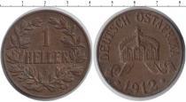 Каталог монет - монета  Немецкая Африка 1 хеллер