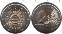 Каталог монет - монета  Словакия 2 евро