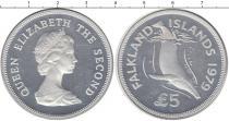 Каталог монет - монета  Фолклендские острова 5 фунтов