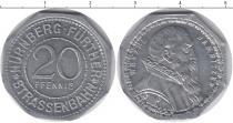 Каталог монет - монета  Нюрнберг 20 пфеннигов