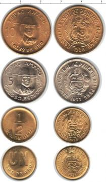 Каталог - подарочный набор  Перу Перу 1975-1981