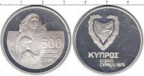Каталог монет - монета  Кипр 500 милс