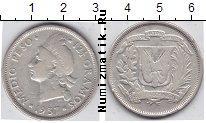 Каталог монет - монета  Доминиканская республика 1/2 песо