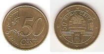 Каталог монет - монета  Австрия 50 евроцентов