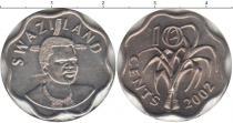 Каталог монет - монета  Свазиленд 10 центов