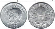 Каталог монет - монета  Сан-Марино 10 лир
