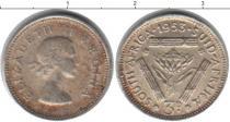 Каталог монет - монета  Южная Африка 3 пенса