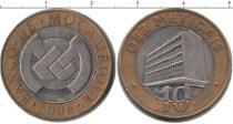 Каталог монет - монета  Мозамбик 10 метикаль