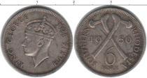 Каталог монет - монета  Родезия 3 пенса