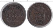 Каталог монет - монета  Шварцбург-Рудольфштадт 1 пфенниг