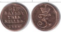 Каталог монет - монета  Бранденбург 1 хеллер