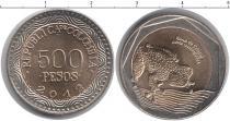 Каталог монет - монета  Колумбия 500 песо