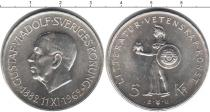Каталог монет - монета  Швеция 5 крон