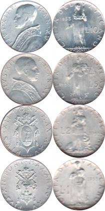 Каталог - подарочный набор  Ватикан Выпуск 1953 года