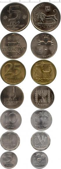 Каталог - подарочный набор  Израиль Выпуск монет 1979 года