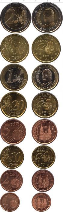 Каталог - подарочный набор  Испания Евронабор 2001 года