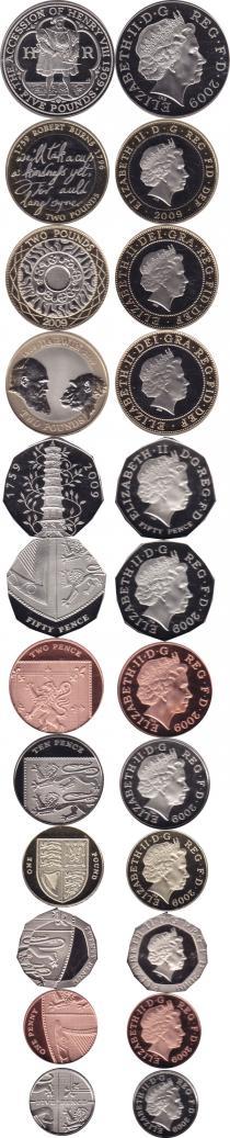 Каталог - подарочный набор  Великобритания Новые гербы 2009