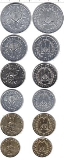 Каталог - подарочный набор  Джибути Джибути 1991-2010