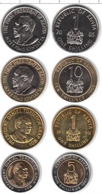 Каталог - подарочный набор  Кения Кения 1997-2005
