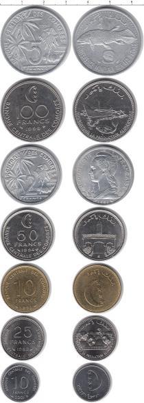Каталог - подарочный набор  Коморские острова Коморские острова 1982-2001