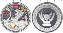 Каталог монет - монета  Конго 240 франков