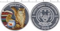 Каталог монет - монета  Руанда 500 франков