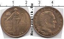 Каталог монет - монета  Монако 20 сентим